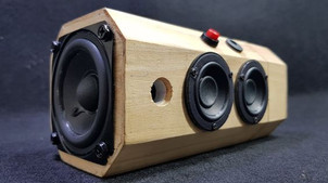 Wood Sound Box - Multi Directional Sound with Bluetooth