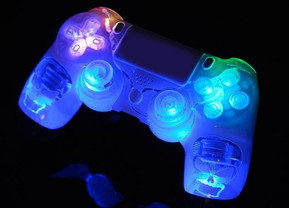 Acrylic LED PS4 Controller