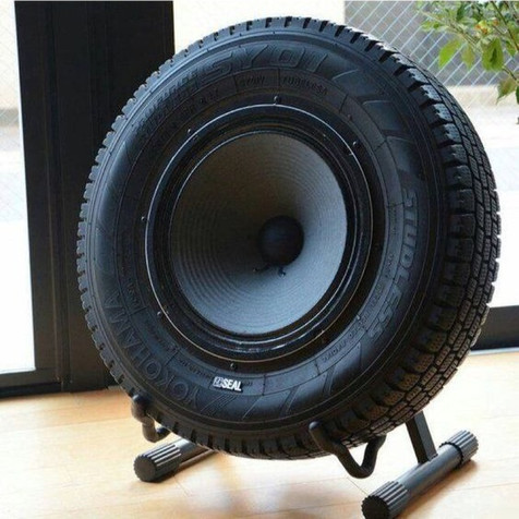 Giant Bluetooth Tire Speaker