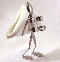Utensil Salt and Pepper Holder