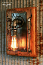 Industrial Sconce Light