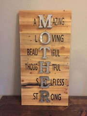 Pallet Mother Acronym Message