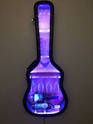 Acoutic Guitar Case Wine Bar
