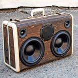 Vintage Suitcase Bluetooth Speaker Box