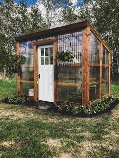 Rustic Green House