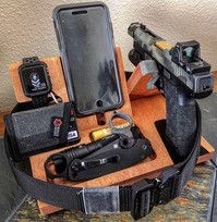 Bed Side Organizer - The Officer Special