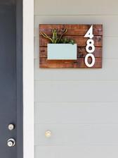 Pallet House Number Display