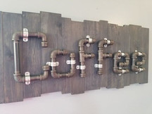 Industrial Coffee Sign