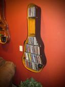 Acoustic Guitar Case Shelf