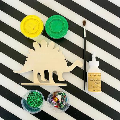 Paint a Dinosaur Kit