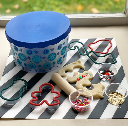 Holiday Cookie Playdough Kit