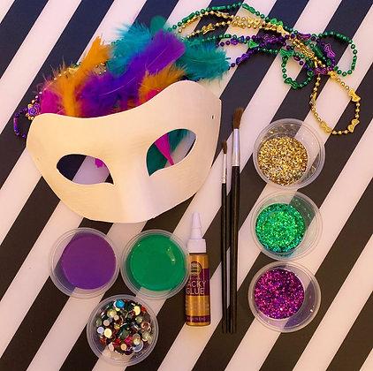 Mardi Gras Mask Kit