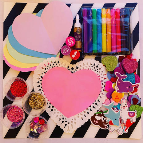 Make Your Own Valentines Kit