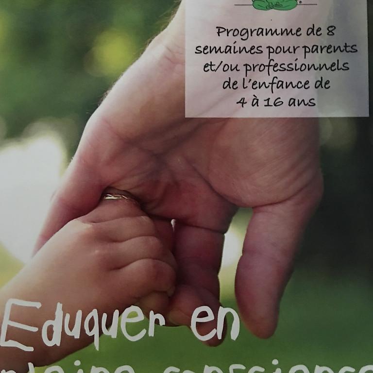 """Programme parents """"Eduquer en pleine conscience"""""""