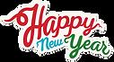 Muestra feliz Año Nuevo