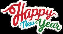 Segno felice anno nuovo