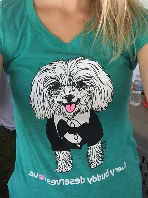 Beople's Buddies T-Shirt - Turquoise