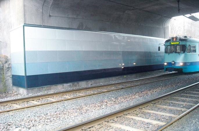 Göteborg, spårvagnstunnel