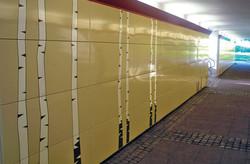 Alingsås, gångtunnel vid stationen