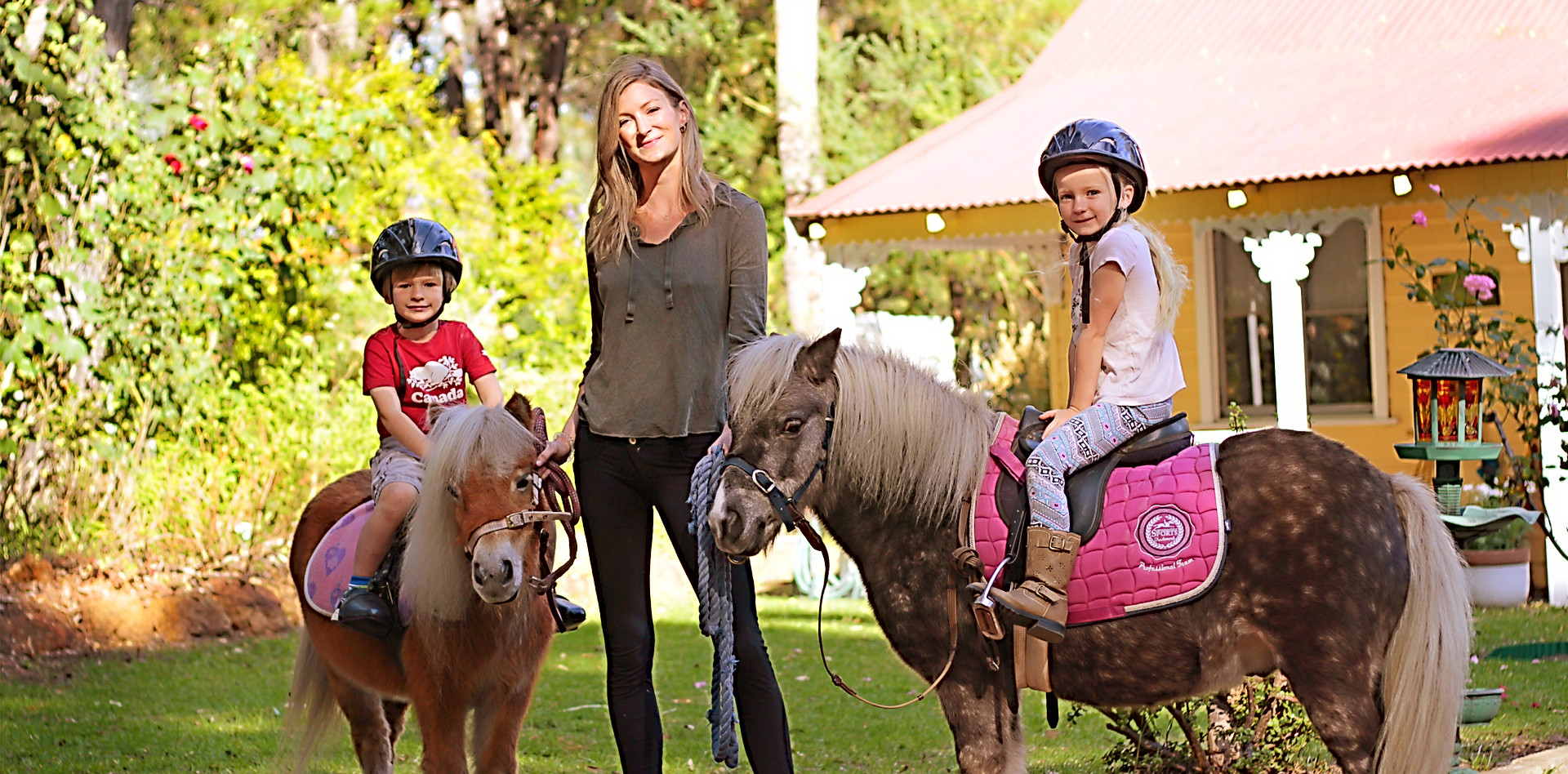 Pony rides for all ages!