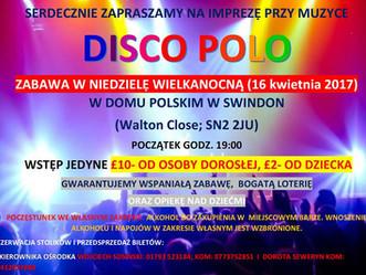Impreza taneczna przy muzyce DISCO POLO