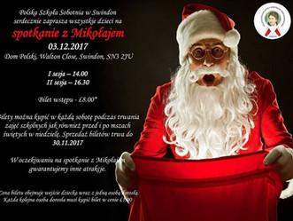Coroczne spotkanie z Mikołajem już wkrótce!