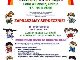 Half term, czyli ferie po polsku
