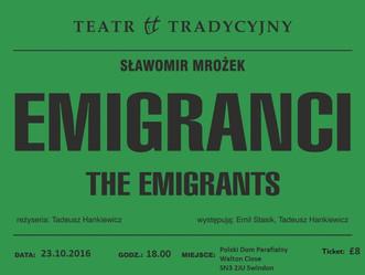 Teatr Tradycyjny z Krakowa na deskach Domu Polskiego w Swindon