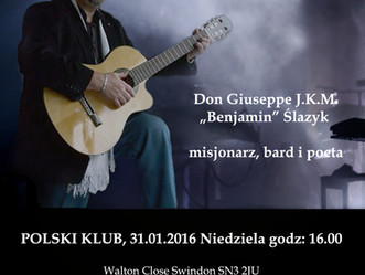Koncert poezji śpiewanej w wykonaniu polskiego księdza Don Giuseppe