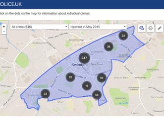 Mapa lokalnej przestępczości
