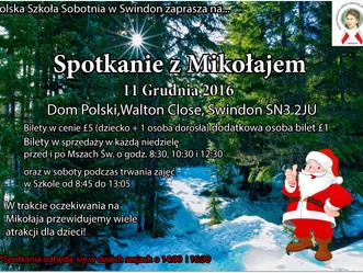 Spotkanie z Mikołajem już wkrótce!