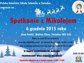 Szkoła organizuje Mikołajki dla wszystkich dzieci