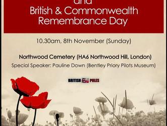 Polski Dzień Niepodległości oraz Brytyjski Remembrance Day w Londynie