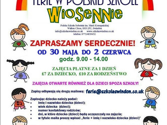 Polska Szkoła zaprasza na ferie po polsku!
