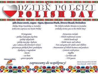 Święto Polaków - Dzień Polski w Swindon