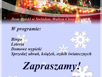 Bazar Świąteczny w Domu Polskim