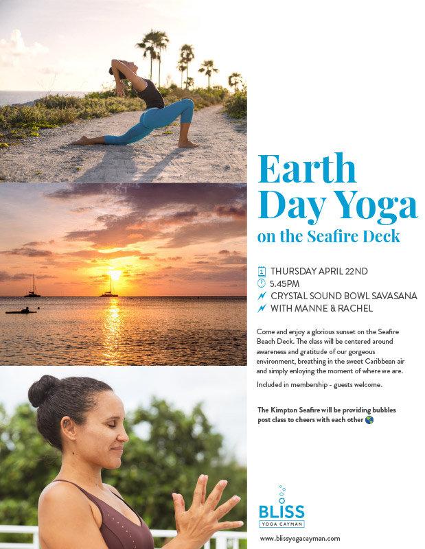 Earth Day Yoga On Seafire Deck