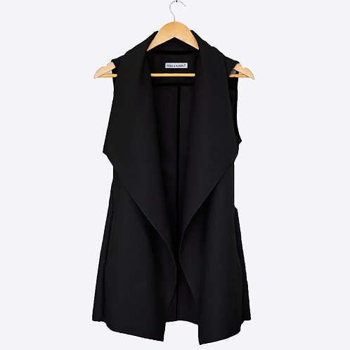 Black Trench vest