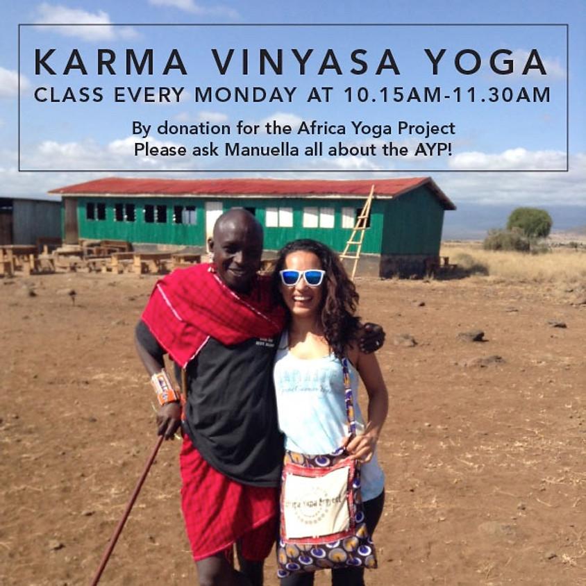 Karma Vinyasa Yoga
