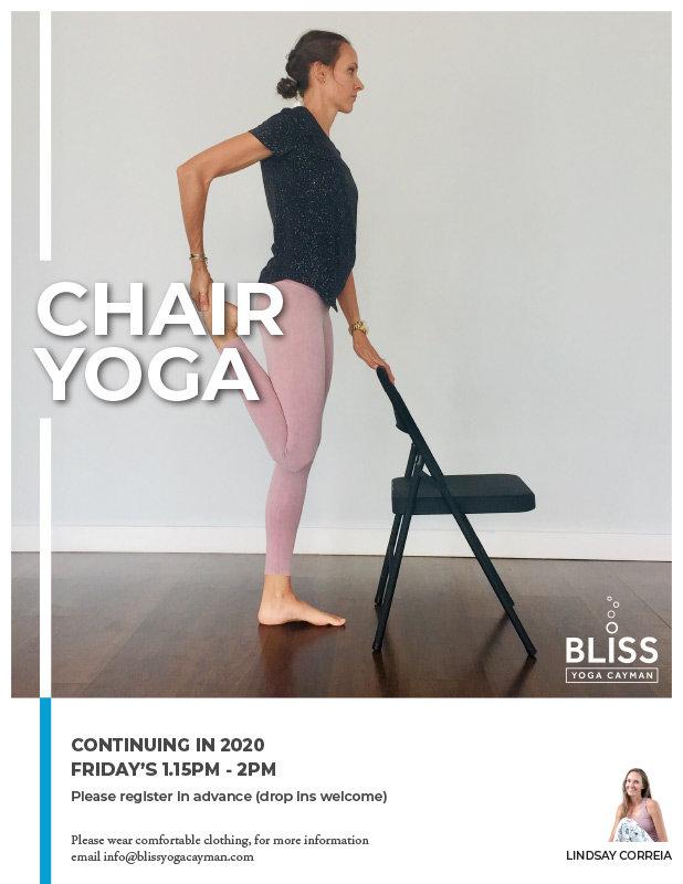 Workshop - Chair Yoga