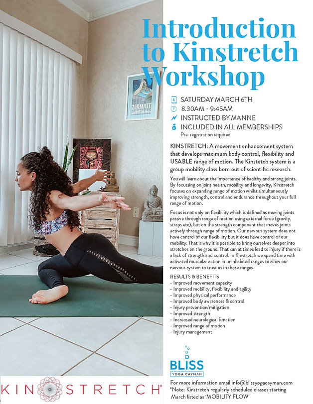 Introduction to Kinstretch Workshop