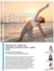 Prenatal Series Workshops