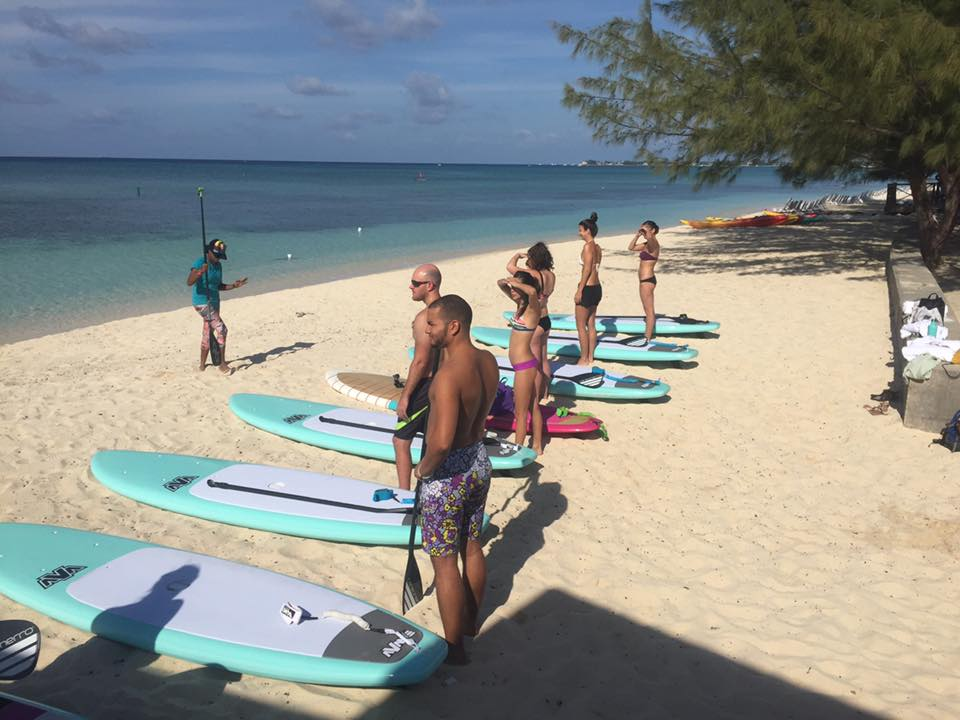 SeaFire first paddleyoga