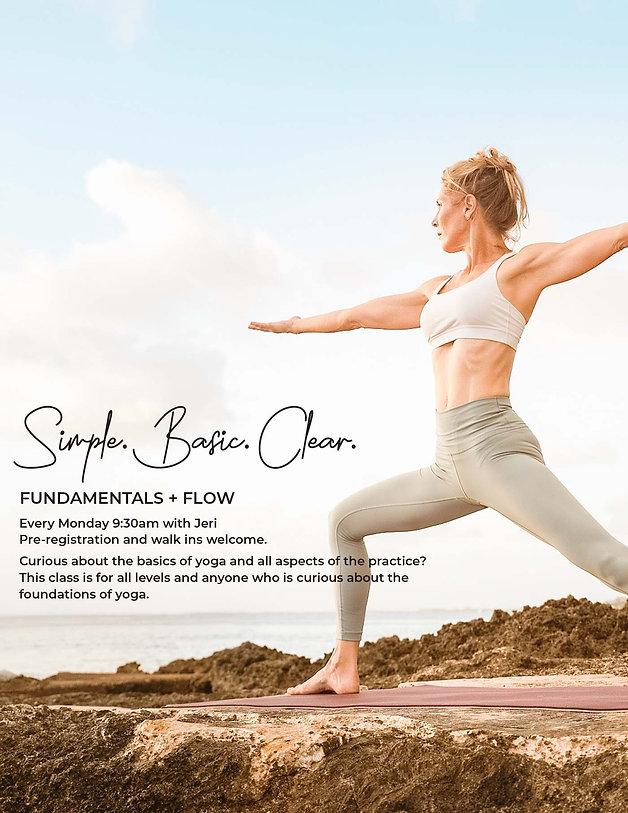 Fundamentals + Flow