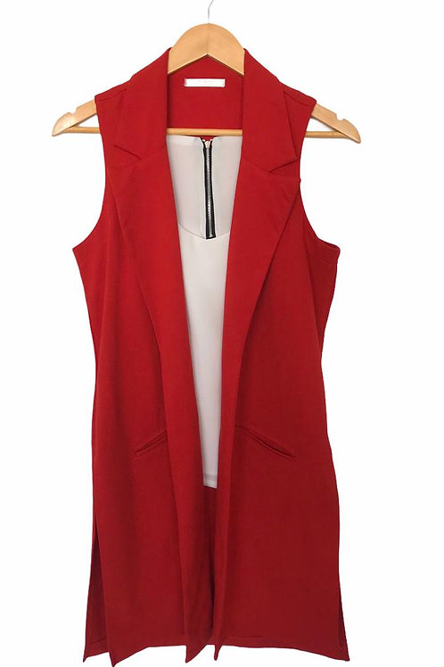 Trench red vest