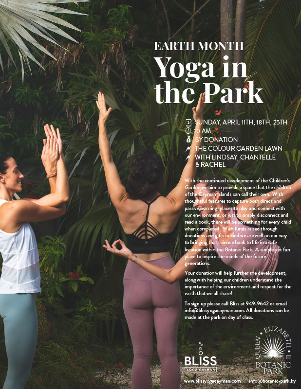 Earth Month Yoga in the Park