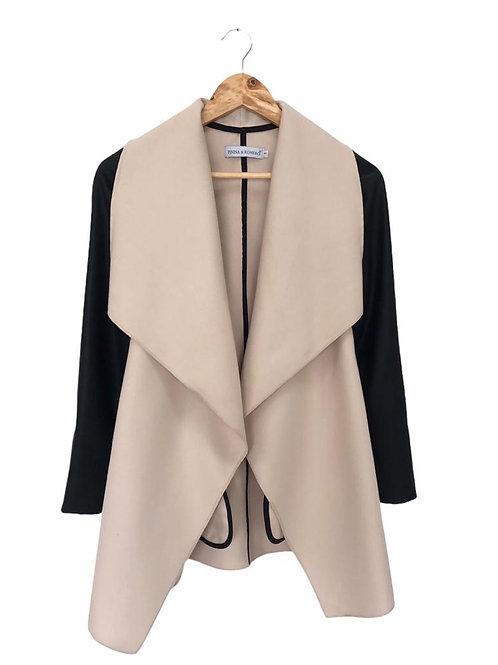 Marfil zipper coat