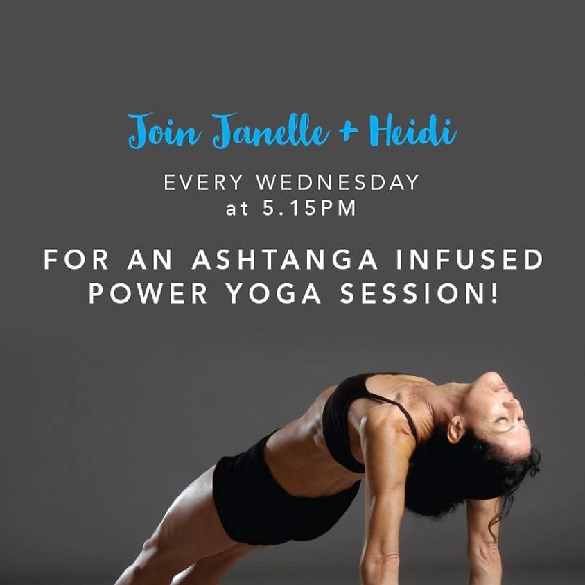 Asthanga Infused Power Yoga Session