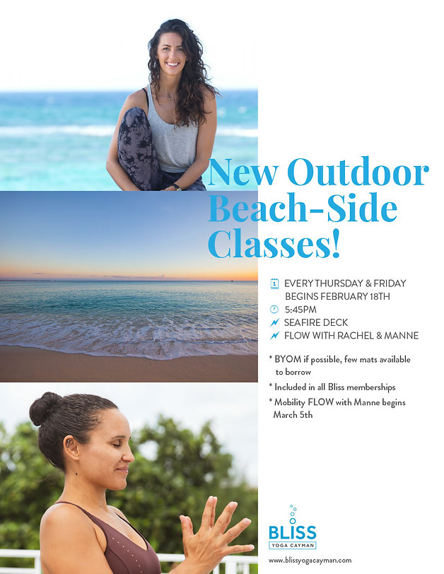 New Outdoor Beach-Side Classes