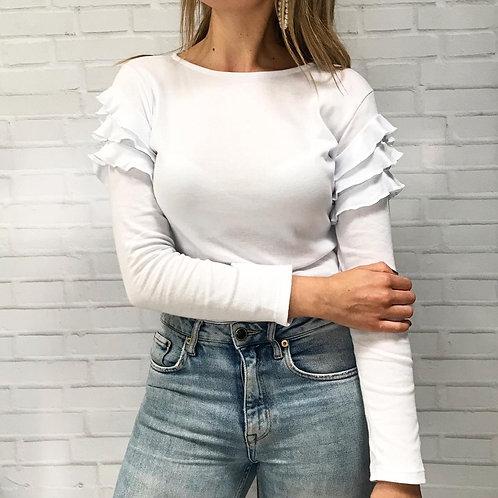 Mambo white top